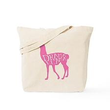 Pink Drama Llama Tote Bag