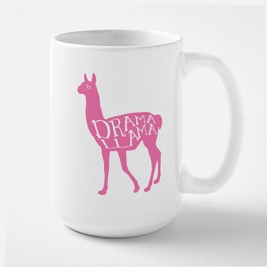 Pink Drama Llama Mug