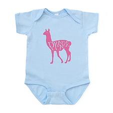 Pink Drama Llama Body Suit