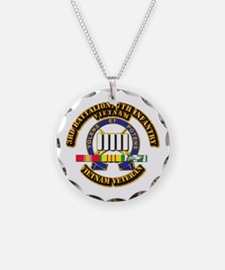 3rd Battalion, 7th Infantry Necklace