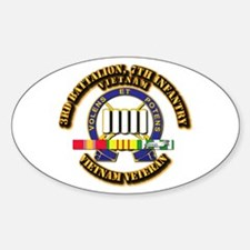 3rd Battalion, 7th Infantry Decal