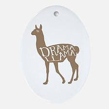 Drama Llama Ornament (Oval)