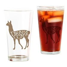 Drama Llama Drinking Glass