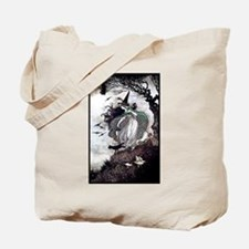All Hallow's Witch Tote Bag