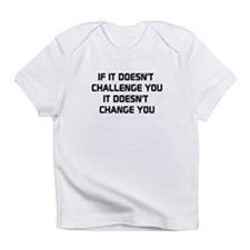 If it doesnt challenge you, it doesnt change you I