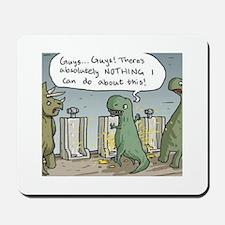 T-Rex Toilet Mousepad