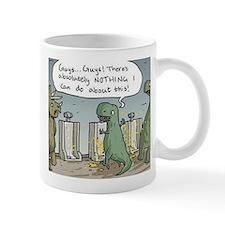 T-Rex Toilet Small Mug