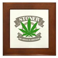 Stoner Grass Framed Tile