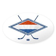 Nederlandse Ijshockey Flag Decal