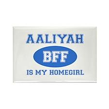 Aaliyah is my homegirl Rectangle Magnet