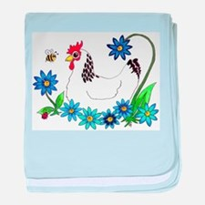 SPRING IS IN THE AIR baby blanket