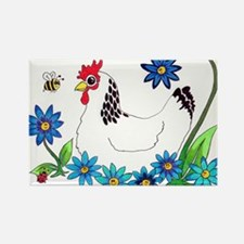 SPRING IS IN THE AIR Rectangle Magnet