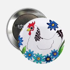 """SPRING IS IN THE AIR 2.25"""" Button"""