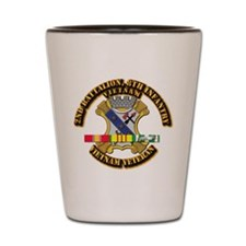 2nd Battalion, 8th Infantry Shot Glass