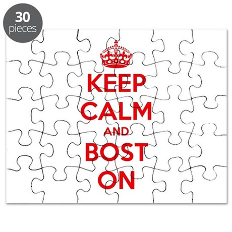 Keep Calm and Boston Puzzle