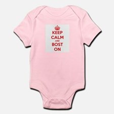Keep Calm and Boston Infant Bodysuit