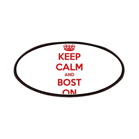 Keep Calm and Boston Patches