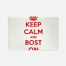 Keep Calm and Boston Rectangle Magnet