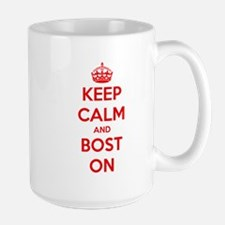 Keep Calm and Boston Mug