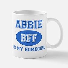Abbie is my homegirl Small Small Mug