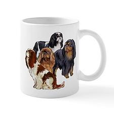 toy spaniel group Mug