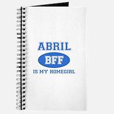 Abril is my homegirl Journal