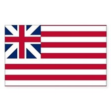 1 US Grand Union Flag Decal