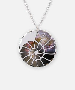 Cosmic Shell Necklace