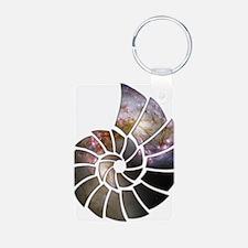 Cosmic Shell Keychains