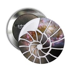 """Cosmic Shell 2.25"""" Button (10 pack)"""