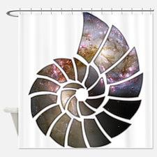 Cosmic Shell Shower Curtain