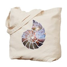 Cosmic Shell Tote Bag