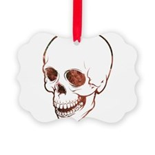 Cosmic Skull Ornament