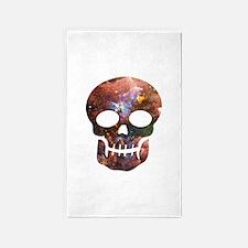Cosmic Skull 3'x5' Area Rug