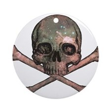 Skull and Bones - Cosmic Ornament (Round)