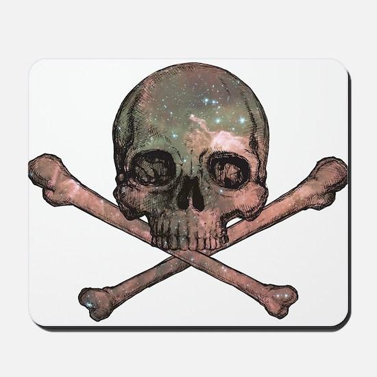 Skull and Bones - Cosmic Mousepad