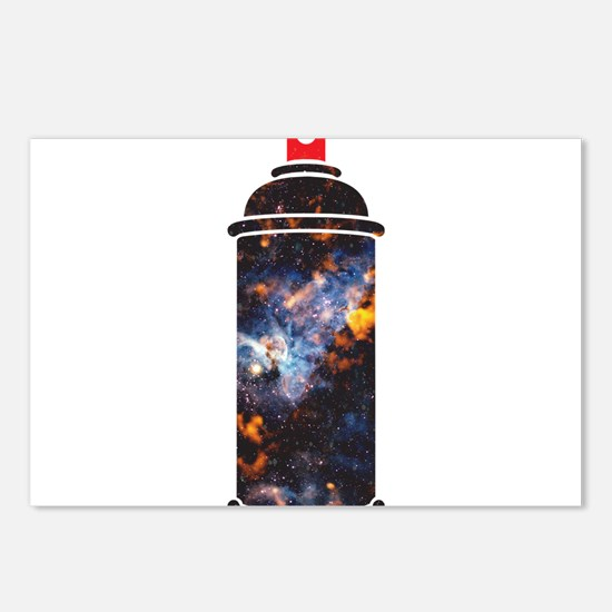 Spray Paint - Cosmic Postcards (Package of 8)