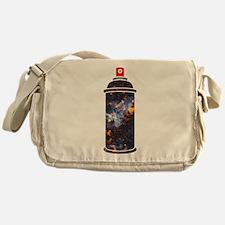 Spray Paint - Cosmic Messenger Bag