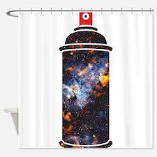 Spray Paint - Cosmic Shower Curtain
