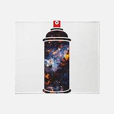 Spray Paint - Cosmic Throw Blanket