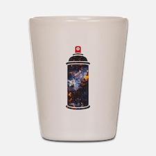 Spray Paint - Cosmic Shot Glass