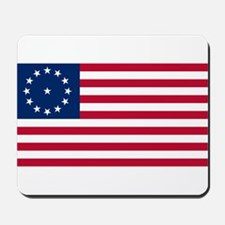 US 2nd - 13 Stars Cowpens Flag Mousepad