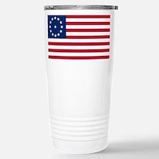 US 2nd - 13 Stars Cowpens Flag Travel Mug