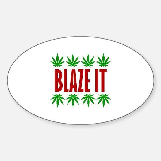 Blaze It Decal
