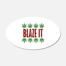 Blaze It Wall Sticker