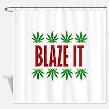 Blaze It Shower Curtain