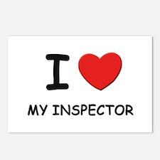 I love inspectors Postcards (Package of 8)