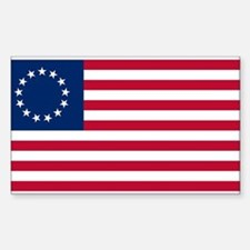 US 2nd - 13 Stars Betsy Ross Flag Decal