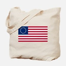 US 2nd - 13 Stars Betsy Ross Flag Tote Bag