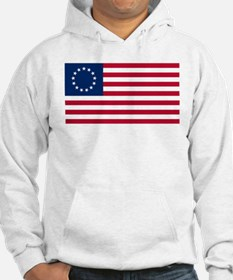 US 2nd - 13 Stars Betsy Ross Flag Hoodie